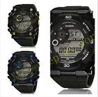Fashion Digital Waterproof Mens & Womens Dare/Day Sport Watch Alarm Chronograph