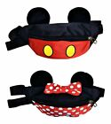 Disney Mickey or Minnie Mouse Kids Fanny Pack Children Small Adults- Brand NEW