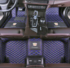 Car Floor Mats Waterproof +LOGO Fit for Cadillac CTS ATS CT6 STS XT5 XTS leather