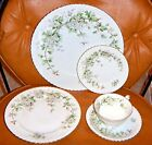 "5 Piece Place Setting Franconia ""Hawthorne"" Selb Bavaria Germany"