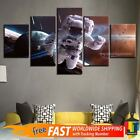 5 Pieces Home Decor Canvas Print Space Astronaut Wall Art Abstract Cosmonaut