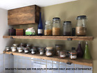 Reclaimed Old Rustic Wood Scaffold Timber Board Shelves Industrial Shelf