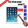 Wholesale 100Pcs Tempered Glass Screen Protector For Apple iPad Mini /Air / Pro