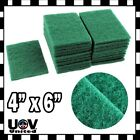 Lot 40pc Scouring Pads Medium Duty Home Kitchen Auto Scour Scrub Cleaning Pad U1
