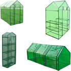 PVC Plant Flower Grow Bag Greenhouse W/ Powder coated steel Frame Small/Large UK