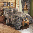 Camo Comforter And Sham Rustic Wildlife Collection Bedding Set