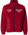 Donald Trump 2020 Keep America Great Embroided Sierra Pacific 3061 Fleece Jacket