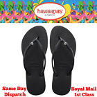 Original Genuine Havaianas Slim Crystal Flip Flops Women NEW Colours and Sizes