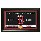 The Highland Mint - MLB Man Cave Bronze Coin Panoramic Photo Mint, Boston Red So