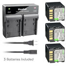 Kastar Battery AC Rapid Charger for JVC BN-VF714 & GZ-MG21 GZ-MG21AA GZ-MG20US