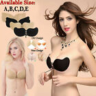 Women Ladies Silicone Bra Self Adhesive Stick On Push Up Gel Strapless Backless