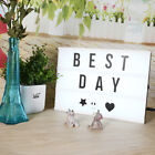 Cinematic Light Box A4 Size LED Lamp Letter DIY Message Board Holiday Decoration
