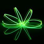 LED Light Glow EL Wire Rope Tube + Controller Neon Wire for Car Christmas Home