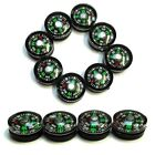 0 7/16in Mini Compass for Crafts Camping Outdoor Hiking Survival Trekking