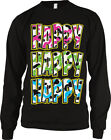 Happy Happy Happy Camo Colors Redneck Hunting  Long Sleeve Thermal