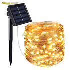 Garden Solar Powered 33Ft 100 LED 10M Copper Wire Light String Fairy Xmas Party