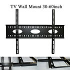 "Universal VESA Slim Lcd Led Plasma Flat Tv Wall Mount Bracket Stand 30""-60"" Inch"