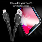 3 Pack 6FT For iPhone 8 iPhone 7 Plus 6 5 USB Charger Cable Charging Data Cord