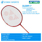 █EZBOX SPORTS█ YONEX Badminton Racquet Duora 7(Red) 3UG5 Frame Made in Japan