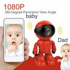 2.0MP 1080P Wifi Wireless Robot Camera IP Camera for Baby Security Monitor DK