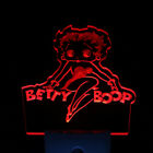 Betty Boop Girl Lady 2D 3D Illusion LED Neon Sign Night Lamp Light Luminous Glow $19.95 USD on eBay