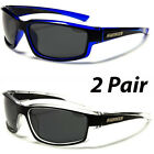 2 Pair Polarized Nitrogen Men Anti Glare Fishing Driving Sport Sunglasses New