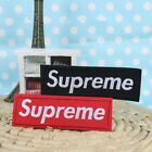 2x Embroidered Supreme Iron / Sew on Patch Badge Bag Hat Jeans Fabric Applique