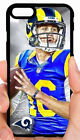 JARED GOFF RAMS NFL PHONE CASE FOR iPHONE XS MAX XR X 8 7 6S 6 6 PLUS 5 5S 5C 4S