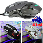 Led Mouse Game 7 Keys Wired Programmable Machine Gameing Mouse For Pro Gamer Au