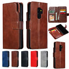 For Samsung Galaxy A6 A8 2018 Flip Leather Wallet Card Holder Stand Case Cover