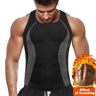 Men's Sauna Sweat Vest Body Shapewear Thermo Waist Trainer Gym Workout Top Shirt <br/> Turn Up Your Workout & Shed Pounds Fast