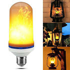 4Model E27 LED Flame Effect Simulated Fire Light Bulb Flickering Lamp Xmas Decor