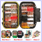 Внешний вид - FISHINGSIR Fly Fishing Flies Assortment Dry Wet Bass Trout Fly Fishing Lure Kits