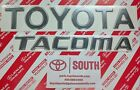 Genuine+OEM+TOYOTA+%26+TACOMA+1998%2D2004+Tail+Gate+Emblems+Set+of+2%2C+Fast+Free+Ship