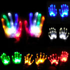 Внешний вид - Rave Party Light Up Lighting LED Flashing Gloves Costume Cosplay Halloween Xmas