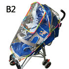 Stroller Dust Cover Transparent High-end Universal Rain Cover Baby Baby Stroller