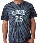 "Tie-Dye Derrick Rose Minnesota Timberwolves ""D Rose Logo"" T-Shirt on eBay"