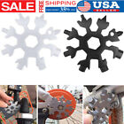 New Snowflake multi-tool 18-in-1 functions Compact and portable outdoor products