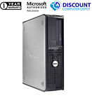 CLEARANCE Fast Dell Desktop Computer PC DUAL CORE WINDOWS 10 4 8 16GB RAM