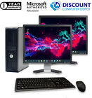 Dell Desktop Computer🚩Intel Core 2 Duo 8GB 2TB HD 🚩Windows 10 PC 22 LCD Wifi