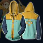 The Seven Deadly Sins 3D Printed Hoodie King Harlequin Zipper Thin Jacket Coat