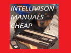 Intellivision Manuals, Huge Selection, Most 3$ - FREE SHIPPING ON ALL ORDERS!