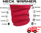 Red Neck warmer Face Mask Snowboard Cold Weather Bike wear ski Thermal Bike 3in1