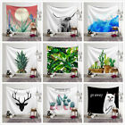 Art Plants Print Tapestry Wall Hanging Bedspread Home Decoration Yoga Blanket