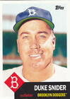 Duke Snider 2016 Topps Cooperstown Collection Card #96