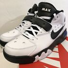 (AH5534-100) MEN'S NIKE AIR FORCE MAX WHITE/BLACK/COBALT sz 10 Blue