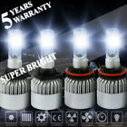 9006 H11 4000W 600000LM LED Headlight Bulbs Light Driving 6000K Lamp High Power