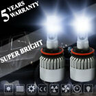 S2 H11 2000W H9 H8 LED Fog Driving Lights Lamp Headlight Kit Hi Lo Beam Super US