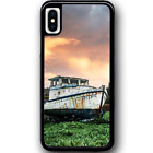 Phone Case Cover For iPhone XS - Old Boat Y01343