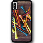 Phone Case Cover For iPhone XS - Golf Tees Y00867